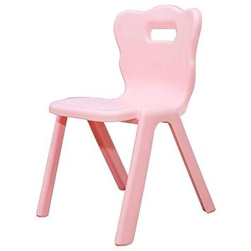 WFENG Silla y mesa de altura ajustable rectangular Plástico para ...