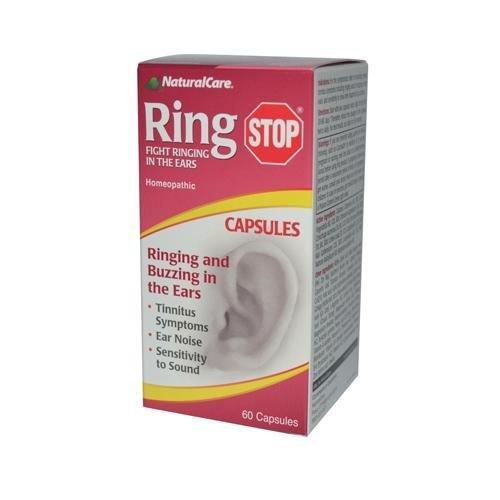 2 Packs of Natural Care Ring Stop - 60 Capsules