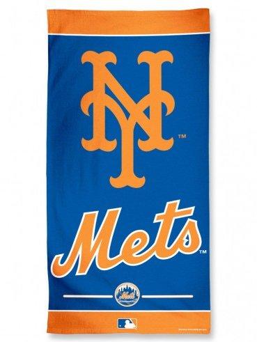 WinCraft MLB New York Mets A1878315 Fiber Beach Towel, 9 lb/30