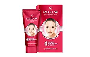 Meglow Intensive Brightening System Premium Fairness Cream For Women (50g)