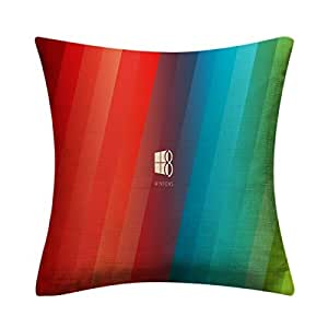 15 Inch Throw Pillow Covers : Amazon.com: HyManOutletStore Throw Flax Pillow Case Decorative Cushion Cover 15 X 15 inches ...
