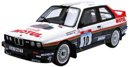 1/18 BMW E30 M3 ツール・ド・コルス #10(ブラック×ホワイト) OT558