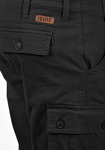 Pantalones Para De Hombre Laurus solid Carga Cortos Black 9000 5xqHBnA