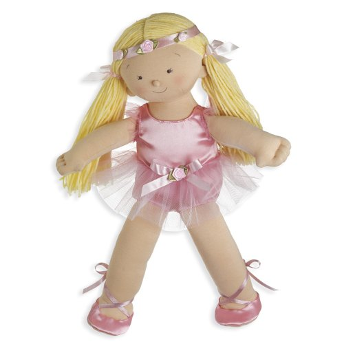 North American Bear Company Rosy Cheeks Big Sister Ballet Blonde