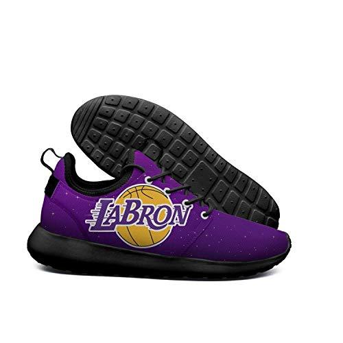 hommes / femmes  s roshe deux mailles la_bron_Jaune _logo_basketball facile respirable léger, facile _logo_basketball à utiliser, le chemin des chaussures à la boutique écologique hr24631 chercher 91f23a