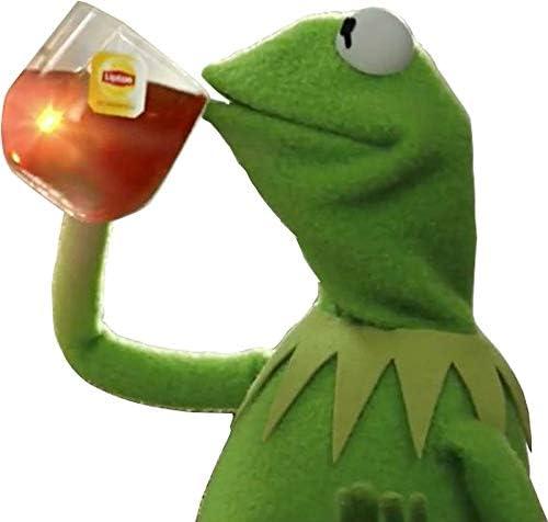 Amazon.com: LA STICKERS Kermit Meme - Sticker Graphic - Auto, Wall ...