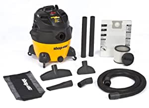 Shop-Vac 9551600 6.5-Peak HP Ultra Pro Series Wet or Dry Vacuum, 16-Gallon