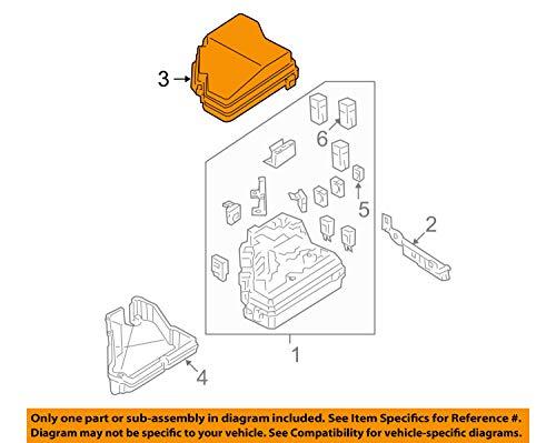 Genuine Honda 38256-SNA-A13 Relay Box (Upper) Cover: