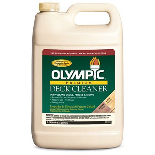 OLYMPIC/PPG ARCHITECTURAL FIN 52125A/01 Gallon Olympic Premium Deck Cleaner