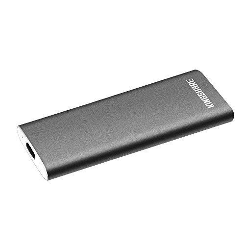 KINGSHARE S6 SSD 240GB Type C 3.1 External Solid State Drive Portable SSD with UASP Support-Gray by KINGSHARE