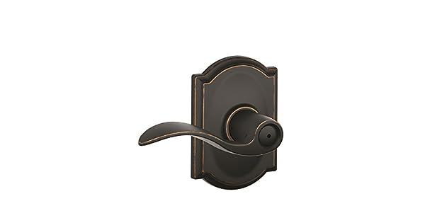 Amazon.com: Schlage Camelot Collection Accent Privacidad ...