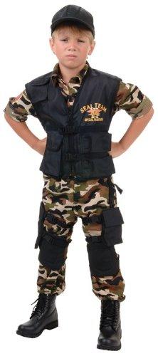 - Navy SEAL Team Deluxe Kids Costume