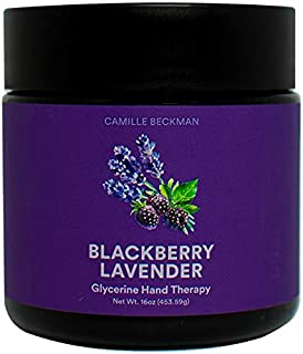 product image for Camille Beckman Glycerine Hand Therapy Cream, Blackberry Lavender, 16 Ounce
