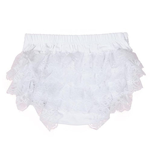 FEITONG Toddler Baby Infant Girl Bow Lace Ruffle Bloomer Nappy Underwear Panty Diaper Cover PP (Bloomer Panty)