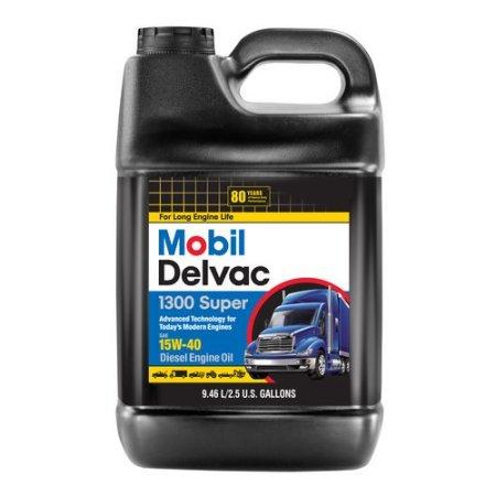 Mobil Mobil Delvac15W-40 - Aceite de diésel de Alta Resistencia (2 ...