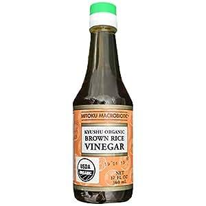 Mitoku Macrobiotic Kyushu Organic Brown Rice Vinegar - 360 ml