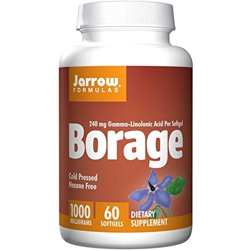 Jarrow Formulas - Borage GLA-240 + Gamma Tocopherol 240 mg GLA - 60 gels (Pack of (240mg 60 Gels)