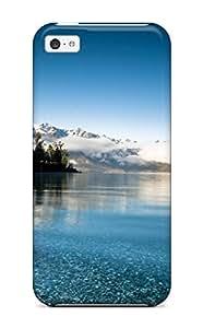 Excellent Design Earth Lake Phone Case For Iphone 5c Premium Tpu Case