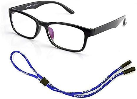 Wenjie Adjustable Glasses String Rope Sport Travel Neck Strap Retainer Strap Anti Slip Eyeglass Holder Cord Chains