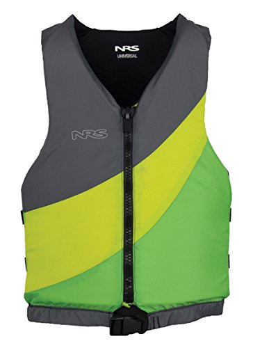 NRS Crew Universal PFD Green / Grey One Size