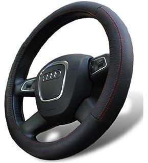 Amazon.com: Wheelskins Ford Genuine Leather Sand Steering Wheel ...