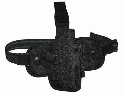 Black Tactical Gear Drop Leg Holster Small/Medium Frame Pistols