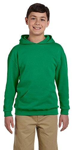Jerzees Youth 8 oz., 50/50 NuBlend Fleece Pullover Hood, Large, - Hoodie 50 Sweatshirt Pullover