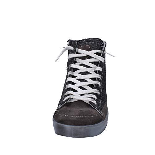 Beverly Scamosciata Hills Pelle Uomo Sneaker Grigio Polo Club qP48wrxqS