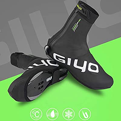 LeKing Zapatos de Ciclismo al Aire Libre Cubierta de Invierno ...