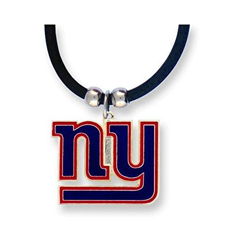 NFL Giants Enameled Zinc 22in Necklace (Enameled Italian)
