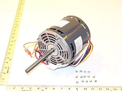 Ruud 51-25327-01 Blower Motor 3/4 HP 1075 RPM 3-Speed for Gas