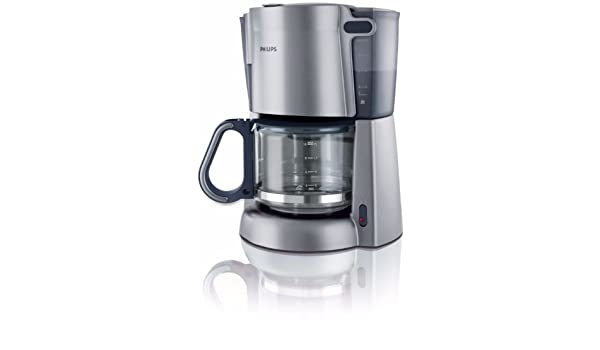 Philips HD7584/53 - Cafetera (Cafetera de filtro, 1000 W, Plata ...