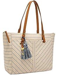 Women's Caitlyn Leather Tote Handbag