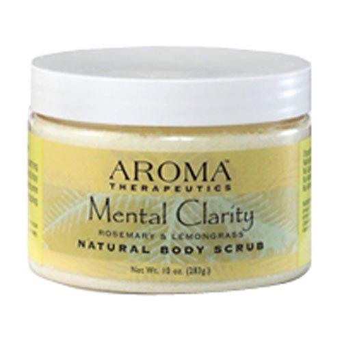 ABRA Mental Clarity Aroma Therapeutics Body Scrub 10 oz. (Pack of 2)