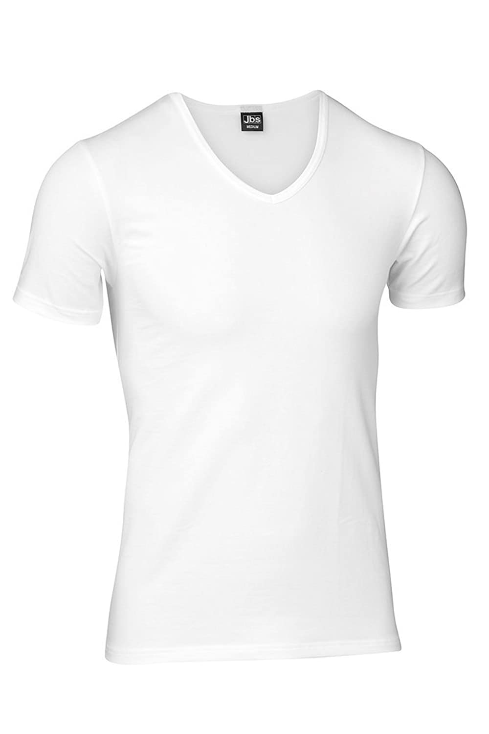 JBS 1030 V-Neck Shirt 4er Pack in black und white S bis 2XL