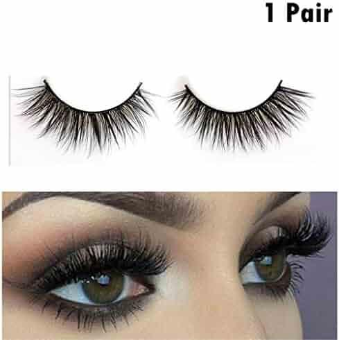 1703cb77d9e 3D Mink Lashes 100% Hand-made Fur Fake Eyelashes Dramatic Makeup Strip  Lashes Black