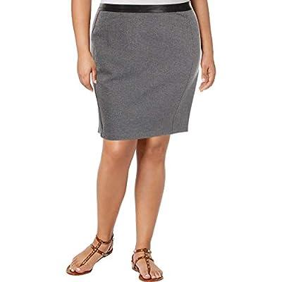 Lauren Ralph Lauren Womens Herringbone Above Knee Pencil Skirt