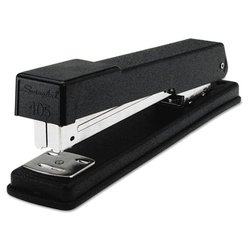 Swingline Products - Swingline - Light-Duty Full Strip Desk Stapler, 20 Sheet Capacity, Black - Sold As 1 Each - Basic all-metal reliability for your economy stapling needs. - Staples up to 20 sheets. - Comfortable for handheld or desktop use. - Full rubb