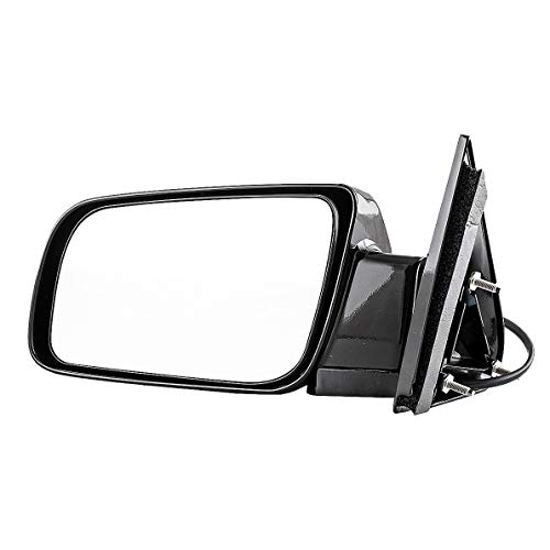 2002 Left Door Mirror - Dependable Direct Left Side Black Mirror Power Operated for 88-99 Chevy/GMC C/K 1500 2500 - GM1320122