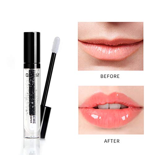 Ownest Lip Plumper Lip Gloss Lips Moisturizer for Fuller & Hydrated Lips with Vitamin E, Natural Hydrating Anti-Wrinkle Lip Plumper