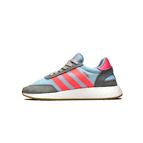 Adidas Uomo Iniki Runner Grigio Antracite Solido Grigio Turbo Gomma Gesso / Turbo