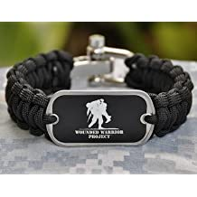 Paracord Survival Bracelet by Survival straps Wounded Warrior Project Edition