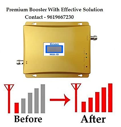 7c5560bc4827d5 Lintratek Universal Dual Band Cell Phone Signal Booster: Amazon.in:  Electronics