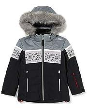 CMP Girls' Snowflake Ski Jacket, Girls, 30W0235F