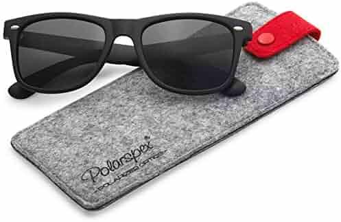 Polarspex Polarized 80's Retro Classic Trendy Stylish Sunglasses for Men Women