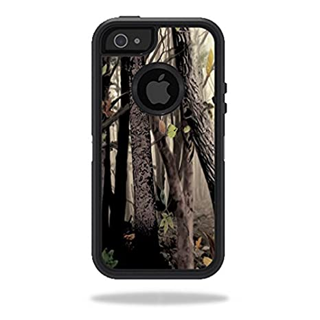 MightySkins Skin For OtterBox Defender iPhone 5s case - Red Camo | Protective, Durable, and Unique Vinyl Decal wrap cover | Easy To Apply, Remove, and Change Styles | Made in the USA