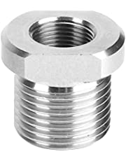 Threaded Adapter - Screw Stainless Steel Threaded Adapter Connector Auto Engine Replacement Parts 1/2‑28 to 3/4‑16