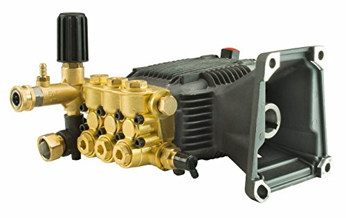 Erie Tools Triplex Pressure Washer Pump for Cat General AR, 4 GPM, 3000 PSI
