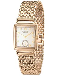 Circa Timepiece 1930s Goldtone Unisex Link Watch CT101TB [Watch]