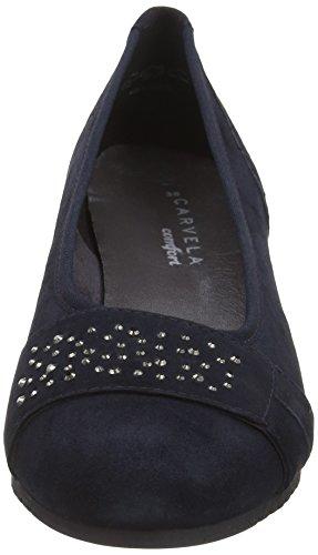 Carvela Allie 7874000209, Zapatos de Cuña Mujer Azul (Navy)